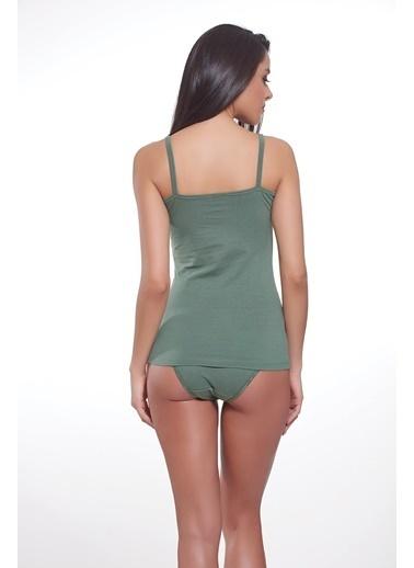 Sevim Kadın Bluz Yeşil